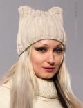 Зимняя шапка с ушками (502051)