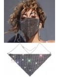 Фестивальная маска-колье с камнями