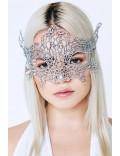Металлизированная серебристая маска Artistic