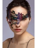 Асимметричная разноцветная маска XC057
