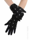 Двойные шерстяные перчатки Xstyle accessories