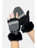 Перчатки-рукавицы (100% шерсть) XT1094
