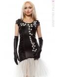 Вечернее платье с вышивкой X5143