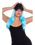 Голубой парик Cosplay Couture