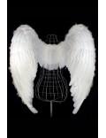 Белые крылья ангела (100 см)