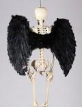 Большие черные крылья (100 см)