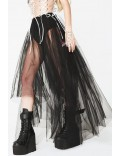 Длинная юбка-пачка в фестивальном стиле X7168