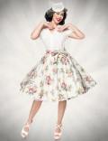 Юбка в стиле 50-х с поясом