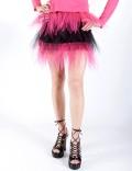 Двухцветная юбка-пачка