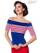 Блузка в стиле 50-х Belsira (101185) - foto
