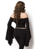Блузка в пиратском стиле A1211 (101211) - оригинальная одежда, 2
