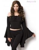 Блузка в пиратском стиле A1211 (101211) - foto