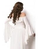 Белая блузка в пиратском стиле A212 (101212) - оригинальная одежда, 2