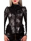 Винтажный пиджак с сеточкой X135 (114135) - материал, 6