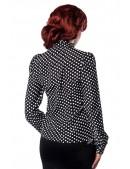 Блузка в горошек Belsira (101155) - оригинальная одежда, 2