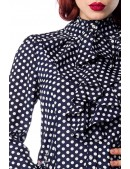 Блузка в ретро-стиле Belsira (101157) - материал, 6