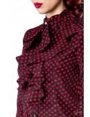 Блузка в стиле ретро Belsira (101158) - 3, 8