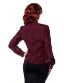 Блузка в стиле ретро Belsira (101158) - цена, 4