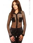 Рубашка женская в сетку X-Style (103013) - foto