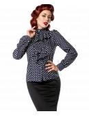 Блузка в ретро-стиле (101157) - материал, 6