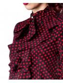 Блузка в стиле ретро (101158) - материал, 6