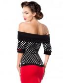 Блузка в стиле Ретро B183 (101183) - оригинальная одежда, 2