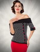 Блузка в стиле Ретро B183 (101183) - foto
