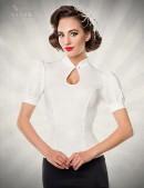 Приталенная блузка в стиле Ретро Belsira (101190) - оригинальная одежда, 2