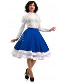 Винтажная белая блуза X-Style (101198) - материал, 6