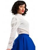 Винтажная белая блуза X-Style (101198) - цена, 4