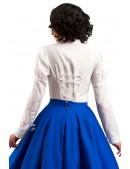 Винтажная белая блуза X-Style (101198) - оригинальная одежда, 2