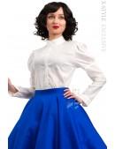 Винтажная белая блуза X-Style (101198) - foto