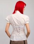 Белая блузка с декольте X-Style (101182) - цена, 4