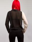Блузка из шифона X178 (101178) - оригинальная одежда, 2
