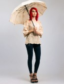 Блузка с открытыми плечами X-Style (101181) - оригинальная одежда, 2