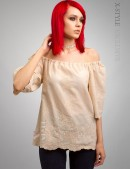 Блузка с открытыми плечами X-Style (101181) - foto