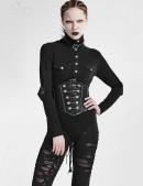 Черное женское боди Punk Rave (101173) - цена, 4
