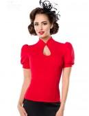 Красная блузка в стиле Ретро (101189) - цена, 4