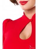 Красная блузка в стиле Ретро (101189) - 3, 8