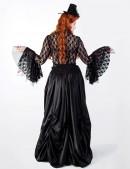 Кружевная блузка с жабо 101057 (101057) - оригинальная одежда, 2