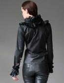 Блузка под кожу 101138 (101138) - оригинальная одежда, 2