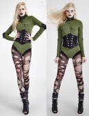 Женское боди в стиле Милитари (101171) - оригинальная одежда, 2