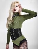 Женское боди в стиле Милитари (101171) - foto