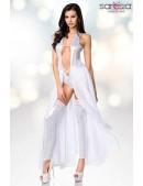 Откровенное серебристое платье-боди и гетры S215 (126215) - оригинальная одежда, 2