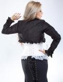 Болеро с длинным рукавом и оборками (104096) - оригинальная одежда, 2