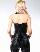 Кожаная жилетка со шнуровками (131010) - оригинальная одежда, 2