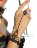Браслет с кольцом и розой (710165) - оригинальная одежда, 2