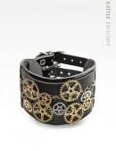 Кожаный браслет Стимпанк (710162) - foto