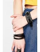 Кожаный браслет-ремешок XJ139 (710139) - материал, 6