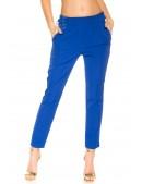 Синие брюки с лампасами MF8090 (108090) - 3, 8